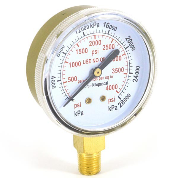 Gauge 2.5In 0-4000 Psi Model Us-30