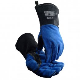 MIG/Stick Welding Gloves Cow Split Fleece Lined COR 1250