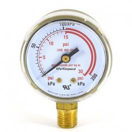 30 psi welding gauge