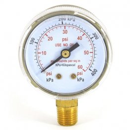60 psi welding gauge