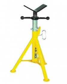 Sumner Heavy Duty Low Jack Pipe Stand with Vee Head